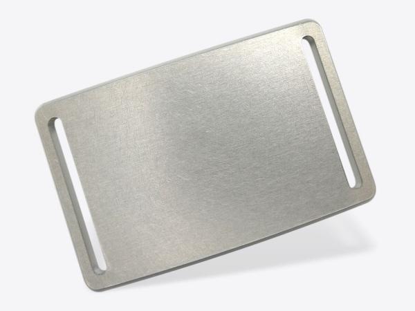 Schnalle Aluminium roh