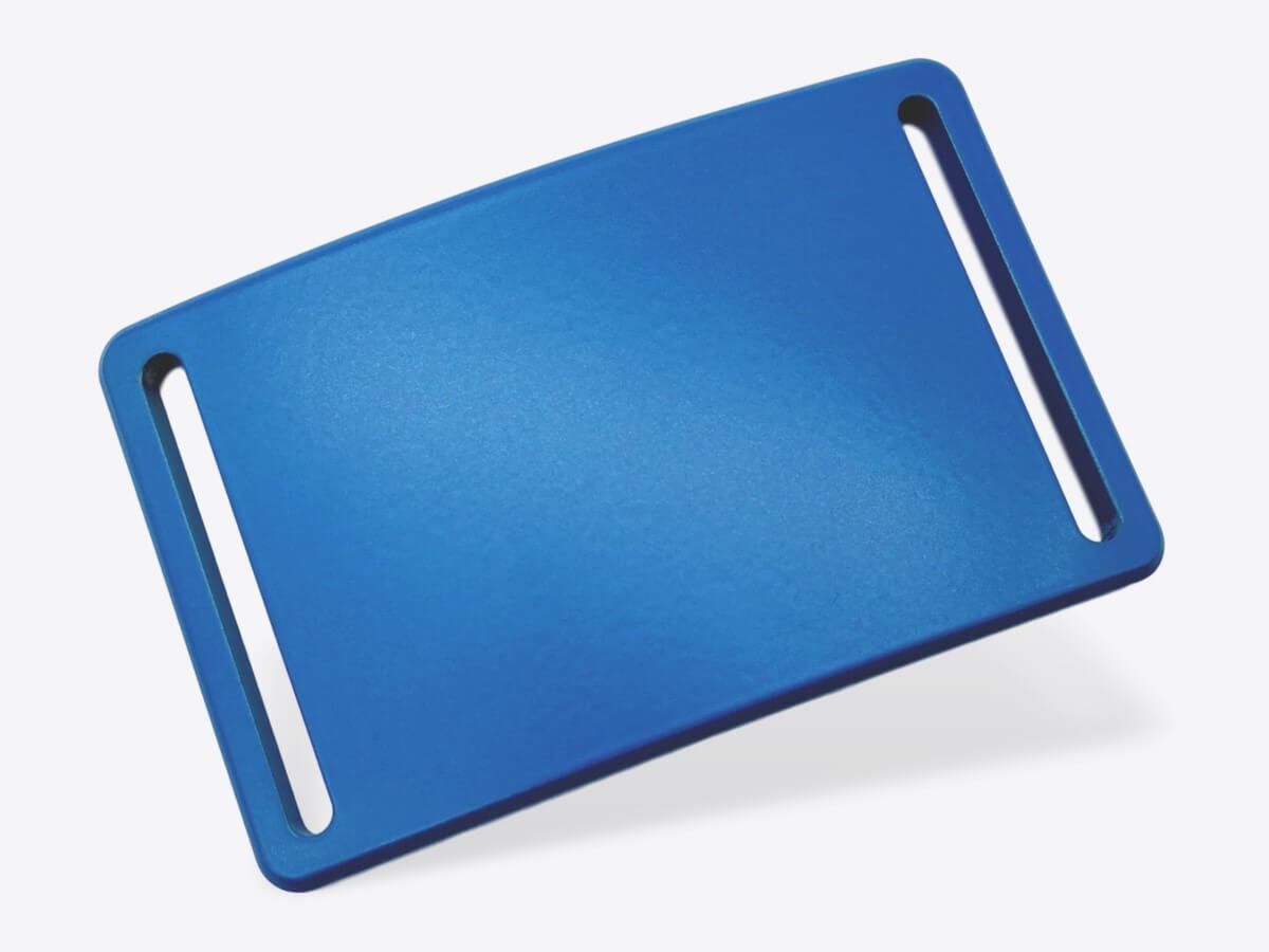 Schnalle M blau