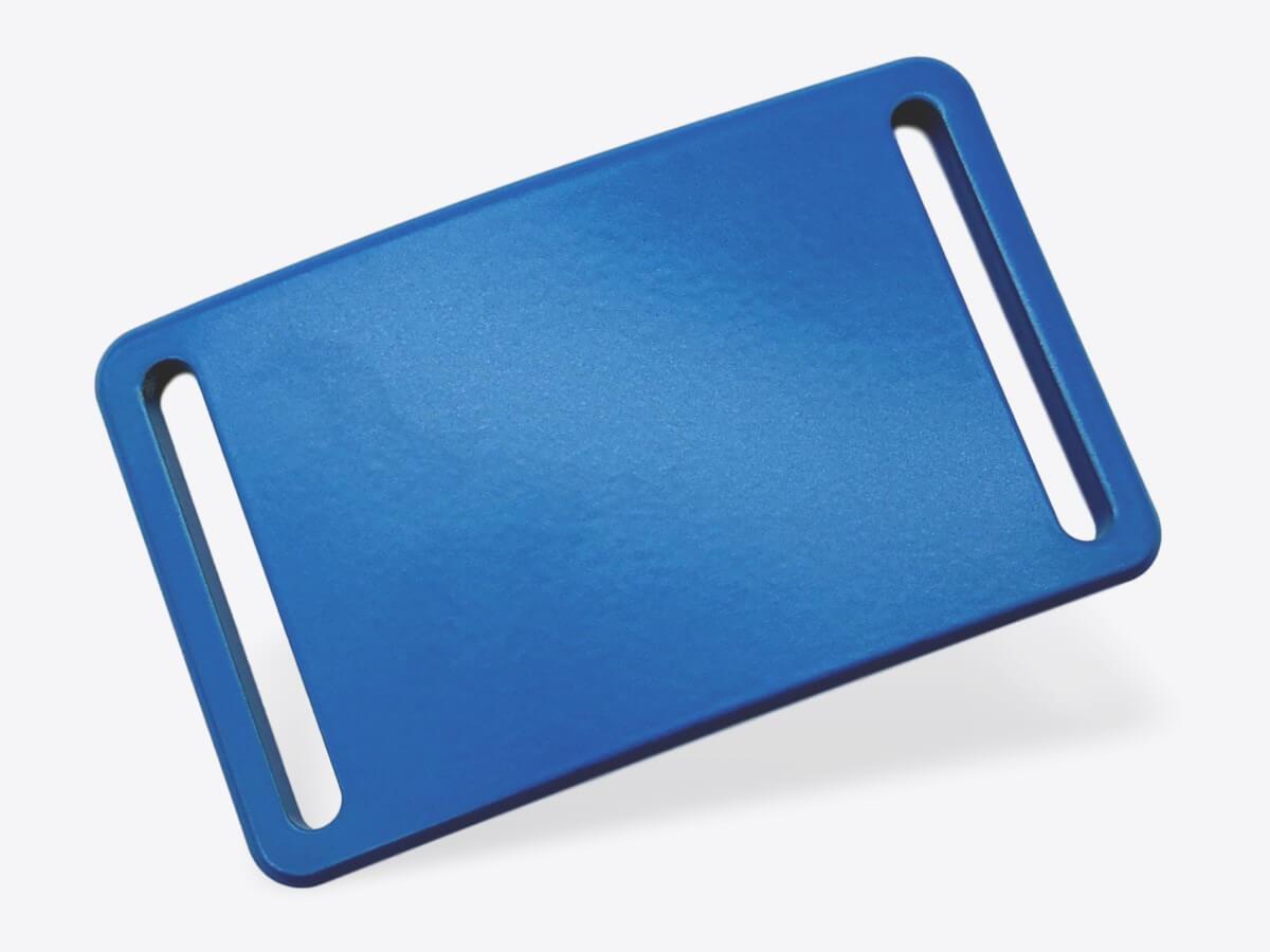 Schnalle S blau