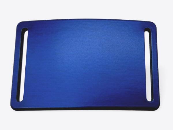 Schnalle M eloxiert königsblau