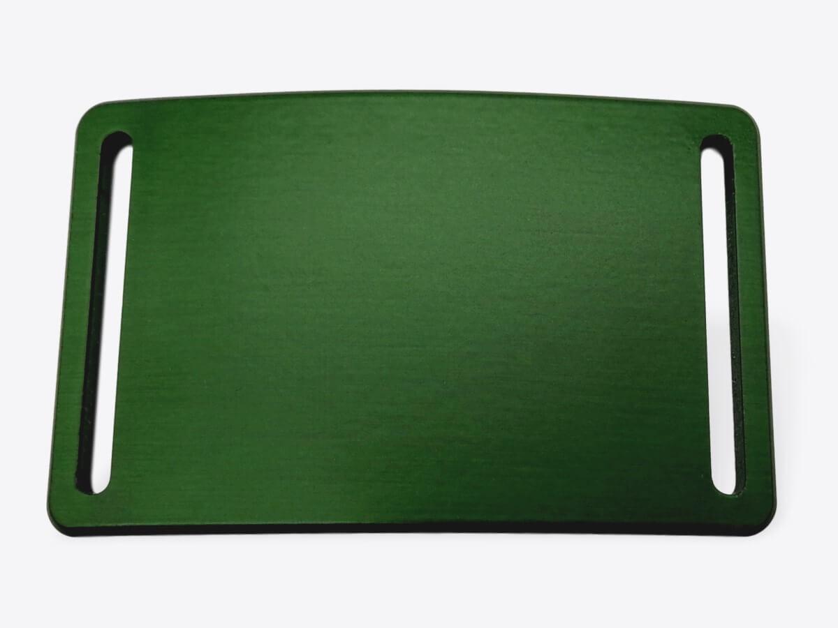 Schnalle M eloxiert waldgrün