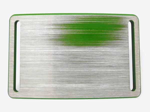 Schnalle M hellgrün handgeschliffen