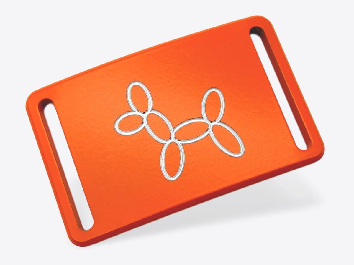 Schnalle S orange