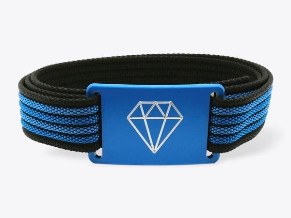 Gürtel-Set S Blue Diamond