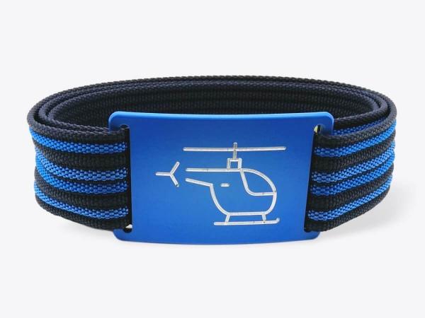 Gürtel-Set M Blue Pilot
