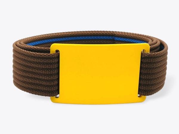 Gürtel-Set M Yellow Wood