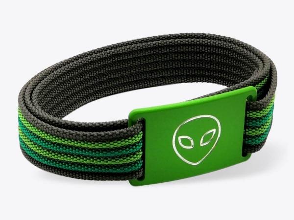 Gürtel-Set S Green Alien